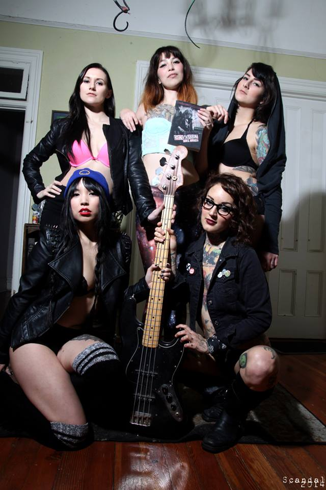 Chick Bassist and the Suicide Girls