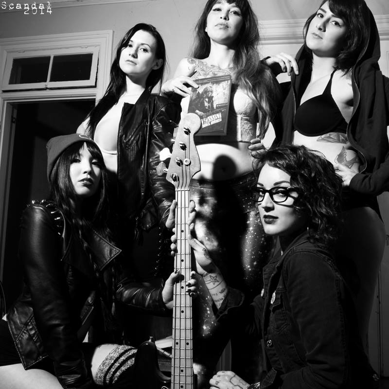 Chick Bassist and the Suicide Girls #2